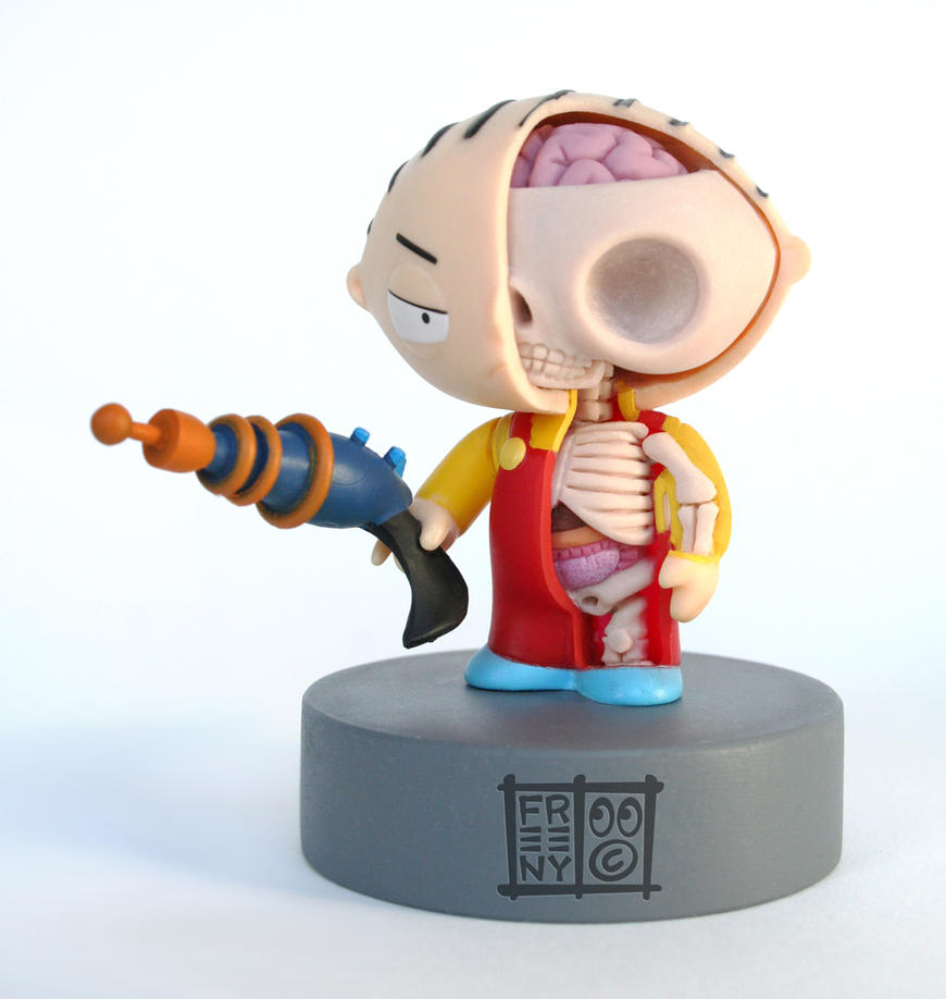 Stewie Anatomical Sculpt by freeny on DeviantArt