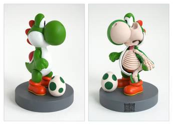 Yoshi Anatomical Sculpt by freeny
