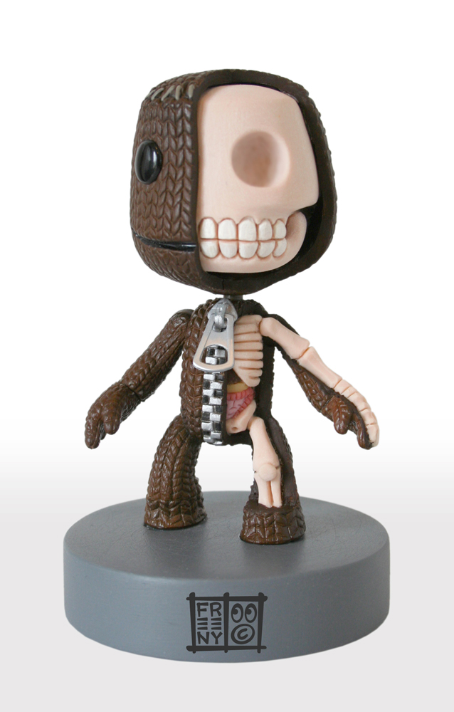 Sackboy Anatomical Sculpt by freeny