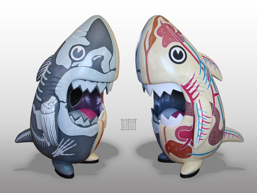 Custom 36 inch Sharky by freeny