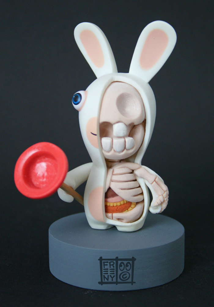Raving Rabbid Dissection by freeny