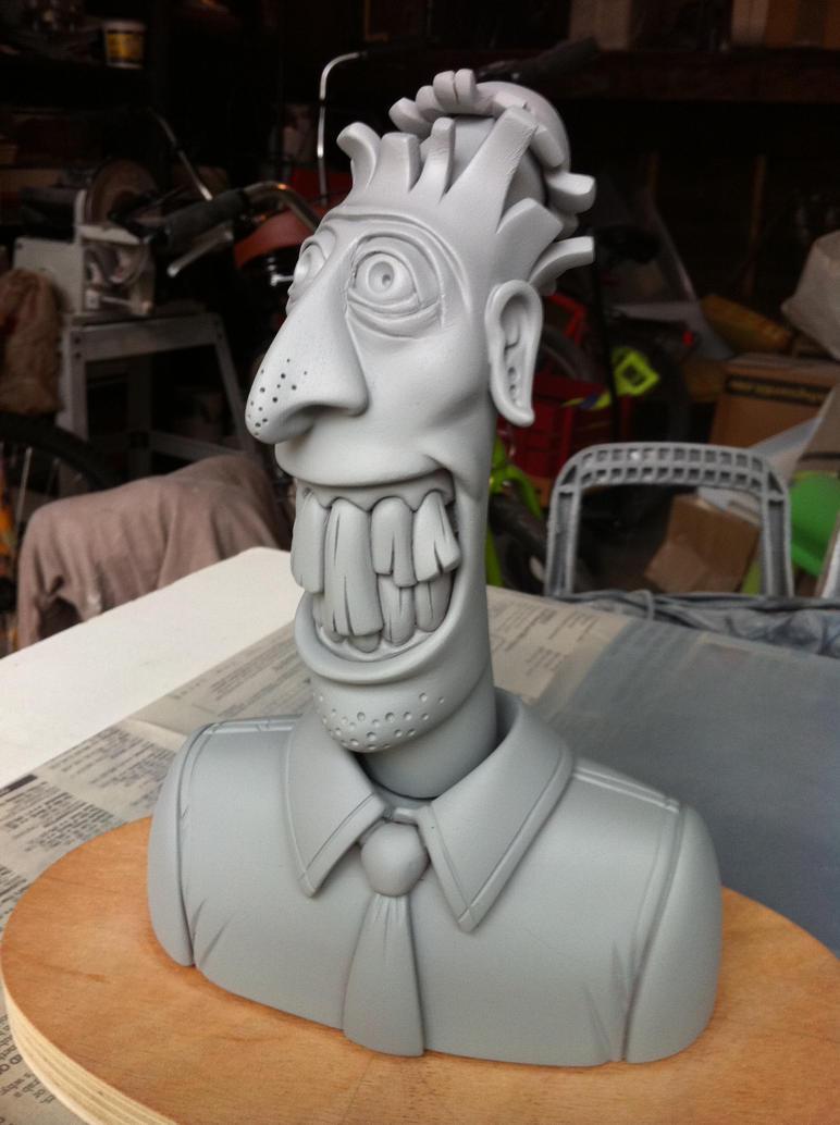 Banana Head Sculpt by freeny