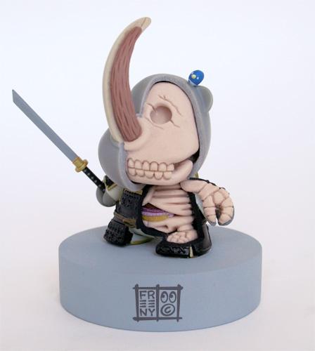Huck Gee Rhino Samurai Hicks by freeny