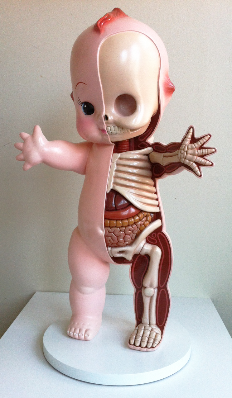 Giant Kewpie Anatomy Sculpt by freeny