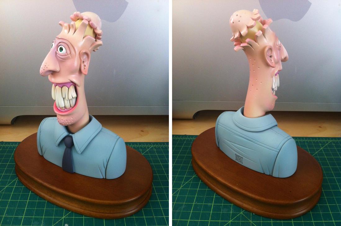 Banana Head Sculpt Color by freeny