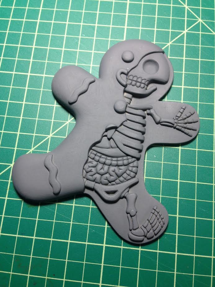 Dissected Gingerbread Man by freeny