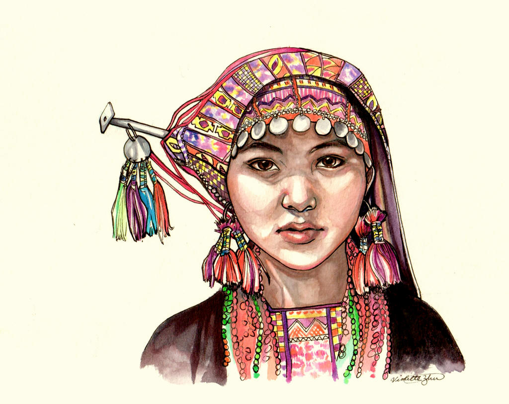 Hmong by faerwin on DeviantArt Miao People Art