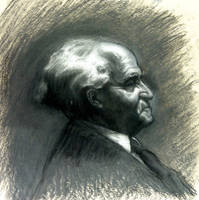 D. Greene portrait study by alegreghi