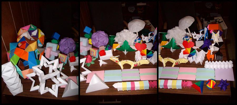 Miscellaneous Origami 2008-10 by NegaZero
