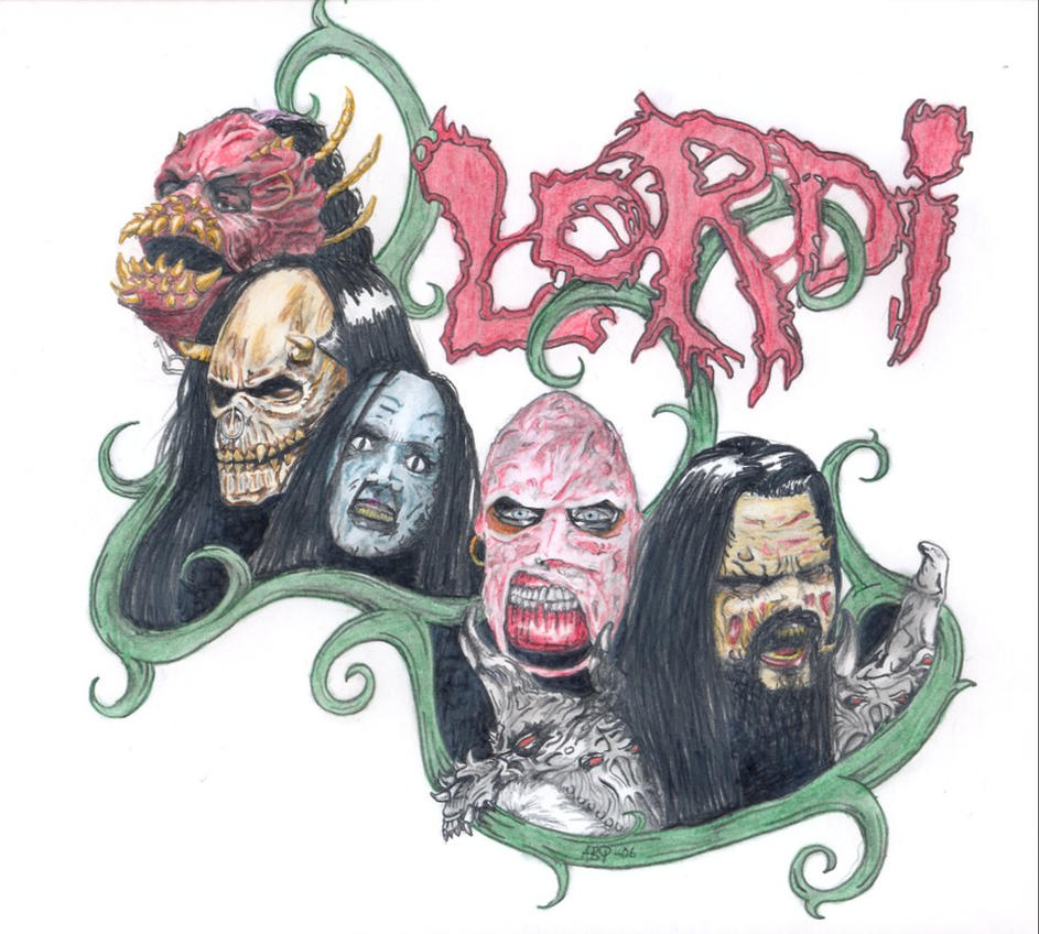Lordi T-shirt design by POGOtheCLOWN