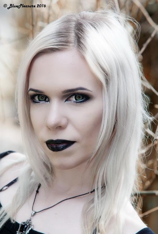 Goth Portrait by Cleo-Feline