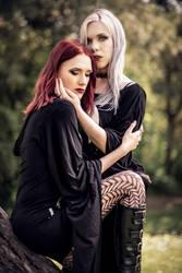 Kali + Feli by Dragan - Romance time I by Felicia-Lucienne