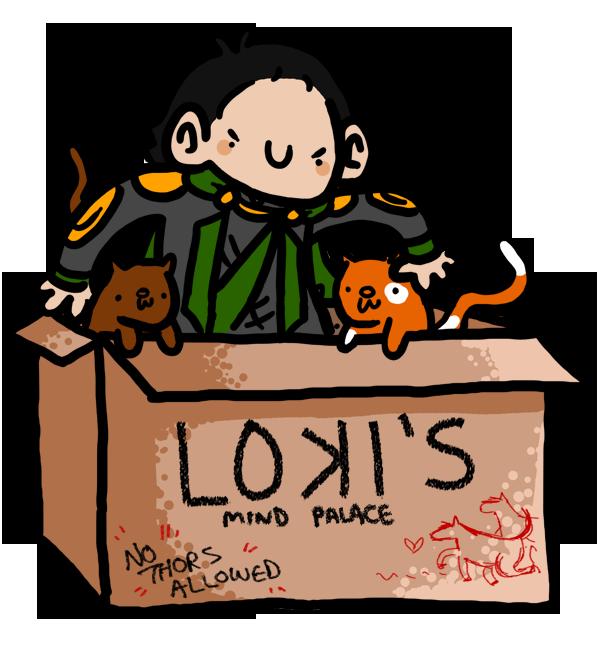 Loki's Mind Palace by geothebio
