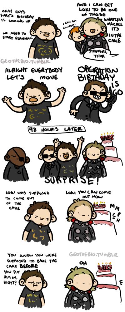 Fury's Birthday by geothebio