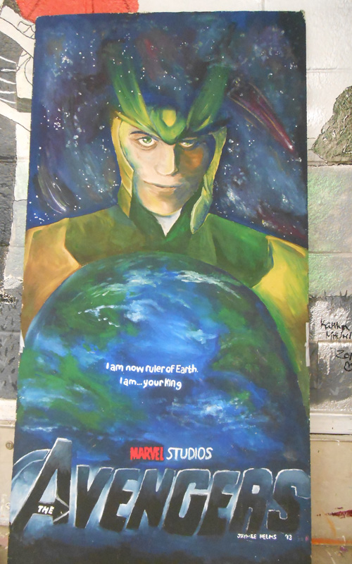 Loki Ceiling Tile by geothebio