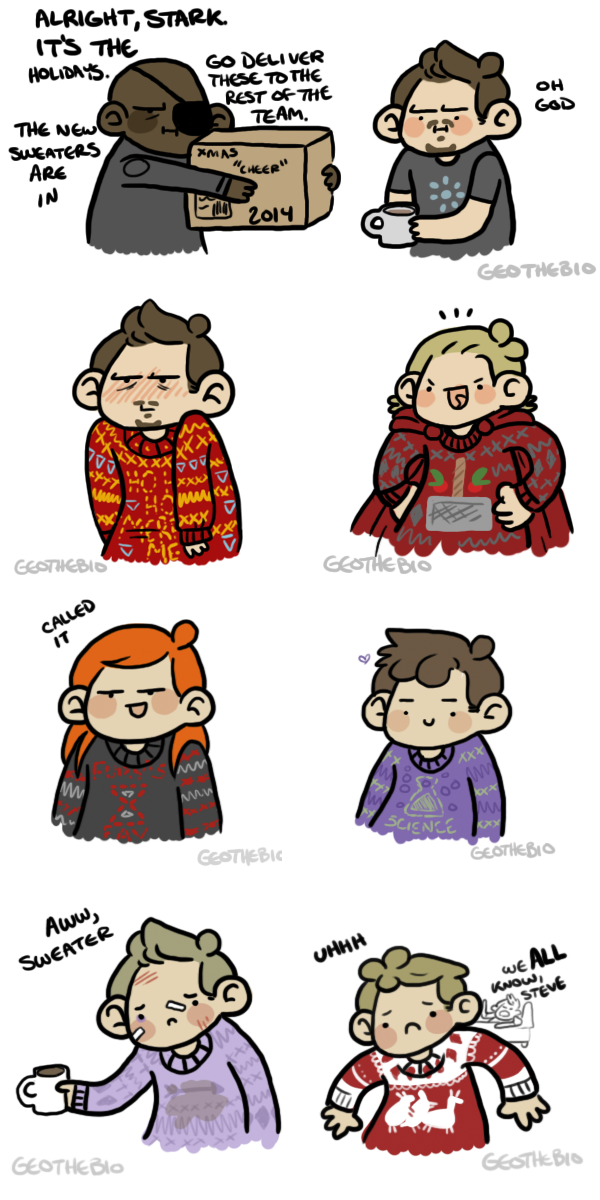 Ugly Sweaters by geothebio