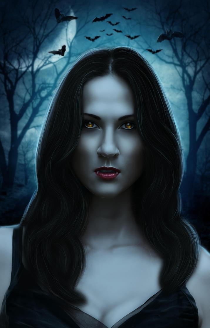 Lady vampire by OksanaMo