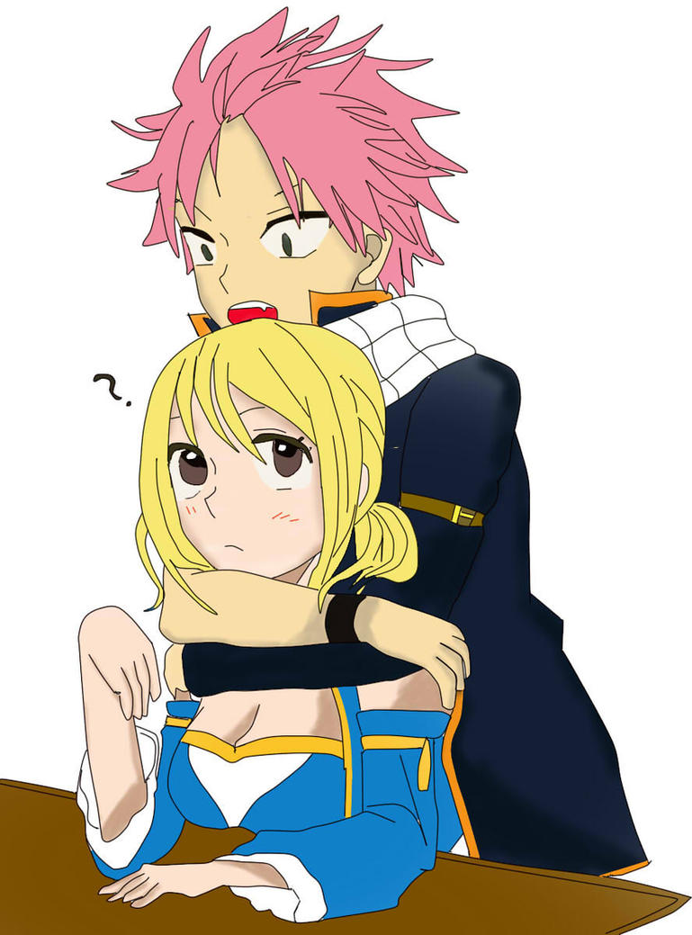 fairy tail lucy and natsu relationship