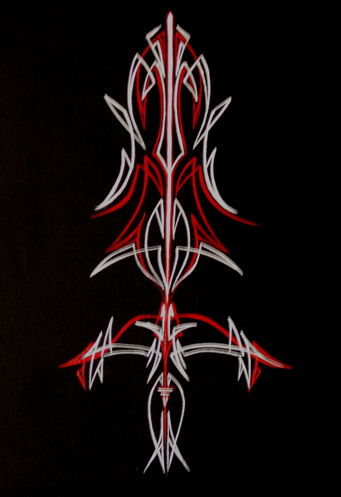 Red And White Pinstripe By TicChallis On DeviantArt