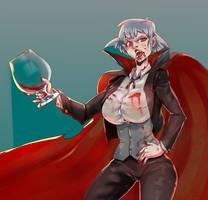 Vampire by XamuArt