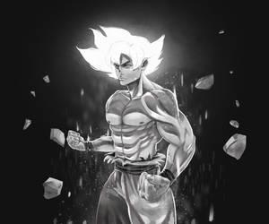 Goku-Ultrainstict by XamuArt