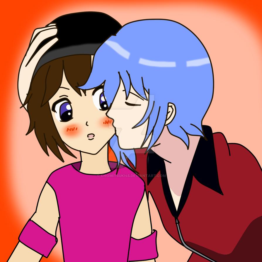 Sajoco und Shou by ChoMitsuki45