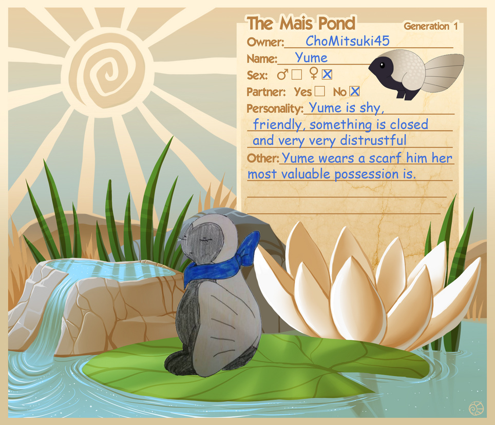 Yume Referenz - Mais Pond by ChoMitsuki45