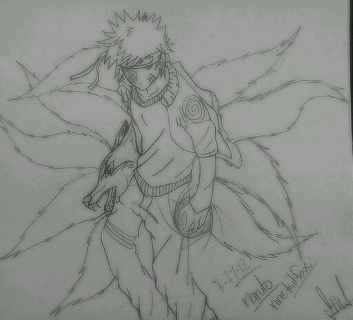 Naruto The Nine Tail Fox By Justsayinq On DeviantArt