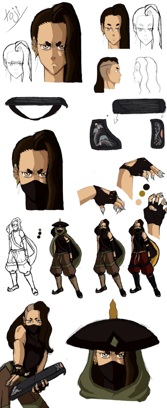 Toji (side character) by Justsayinq