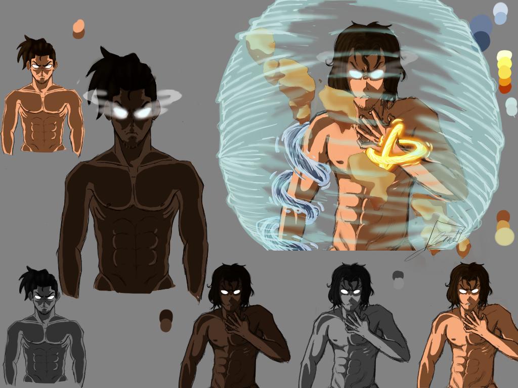 Colored Riku (avatar) by Justsayinq