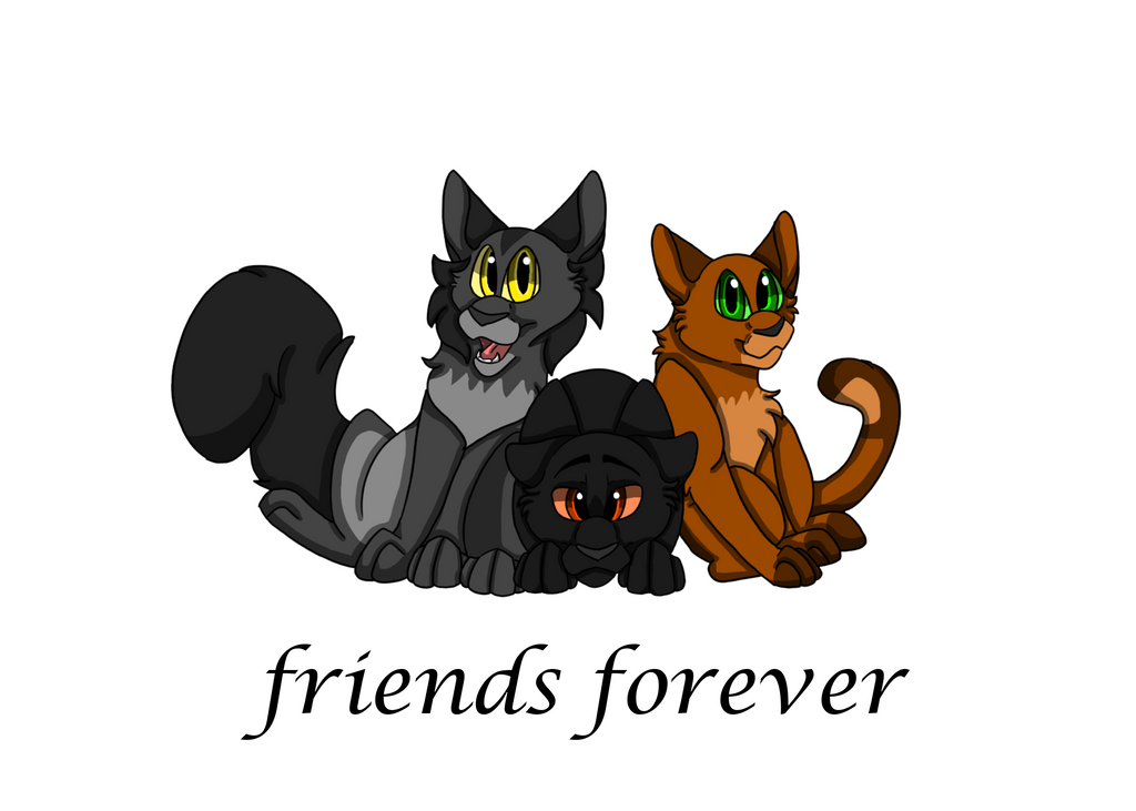 Warriors Friends Forever by Warriorspack
