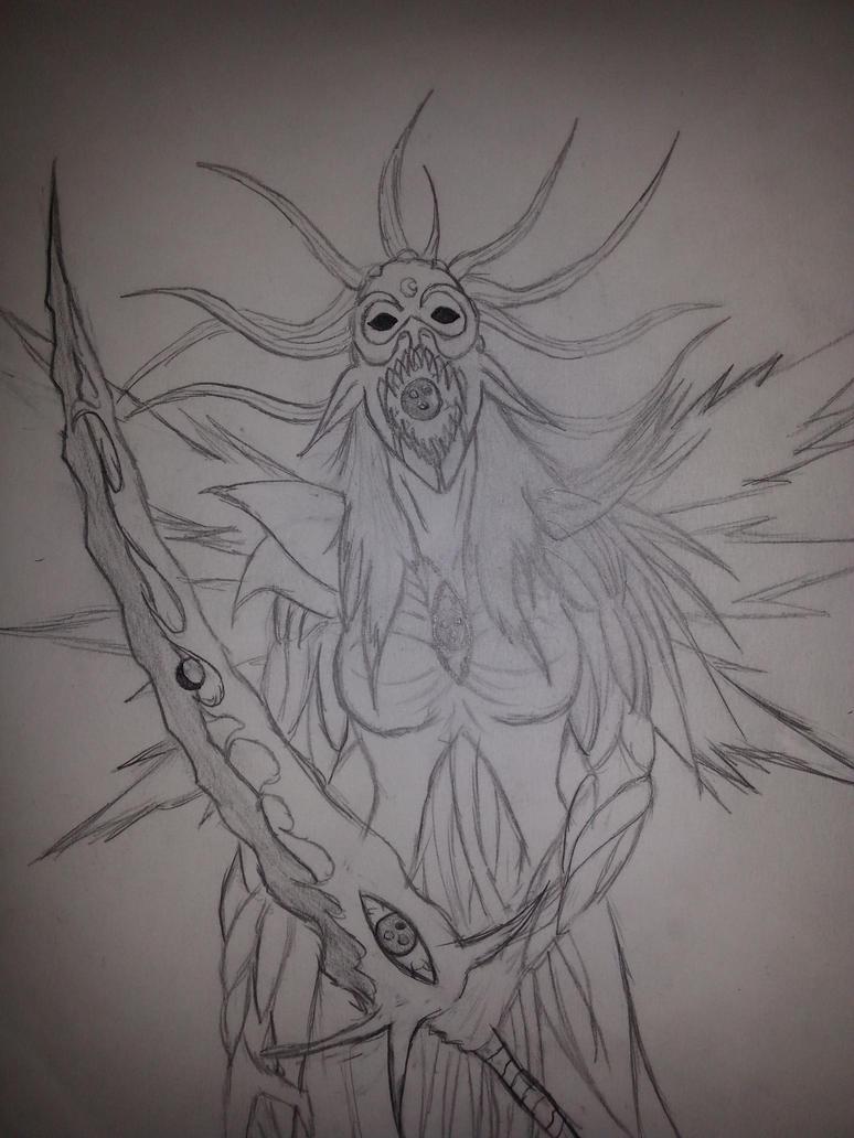 Chaos Warlord : Lyn Blackheart Chaos form by Monicakohai