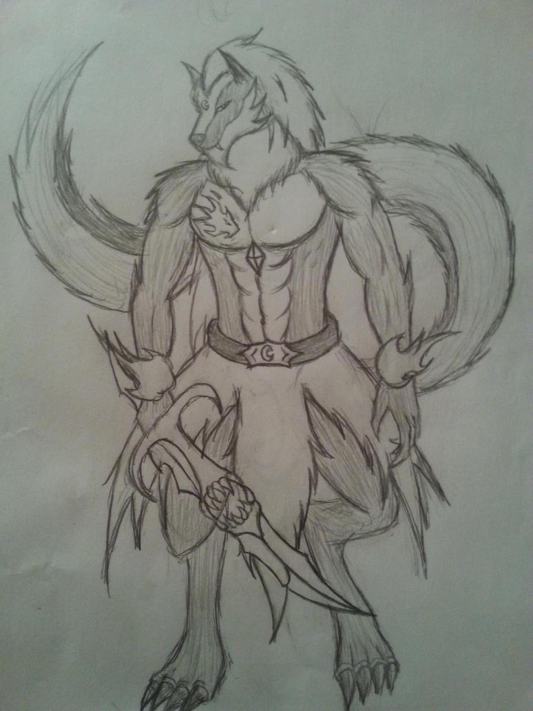 Wolfkin King Antonio Blackheart by Jade-Queen-Of-Souls