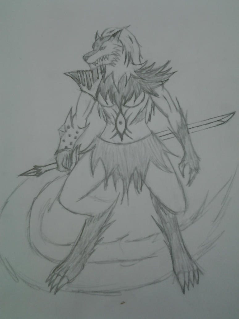 Wolfkin Elder #1 Nali Harribel by Jade-Queen-Of-Souls