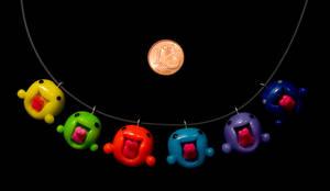 LA Rainbow Necklace by pongojam