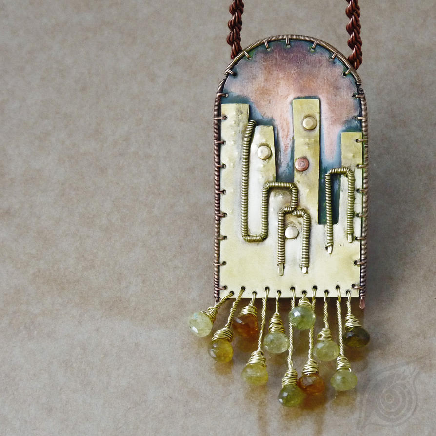 The City (necklace) by NADYjewel