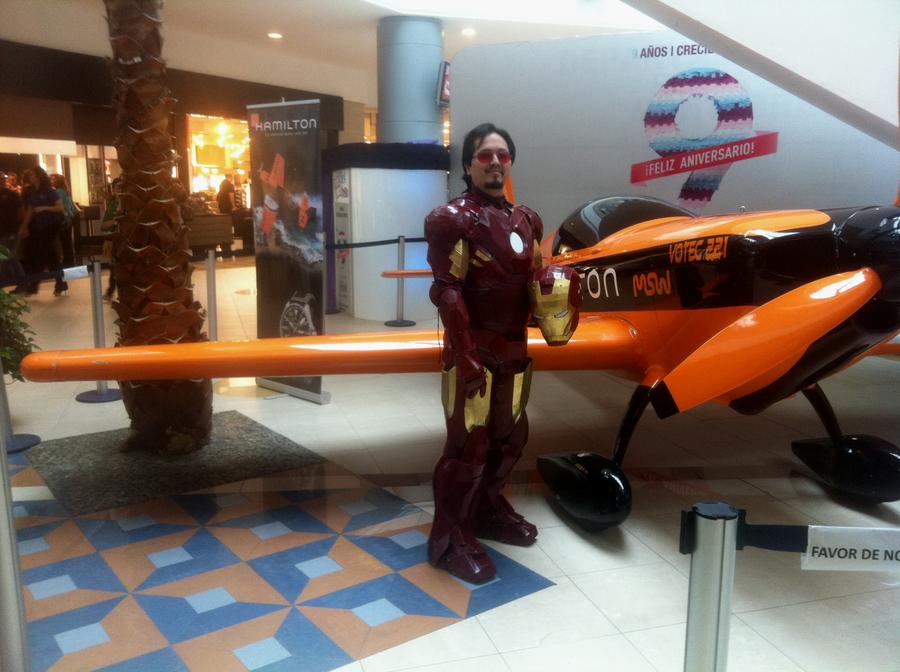 Me as Tony Stark by ScannerJOE