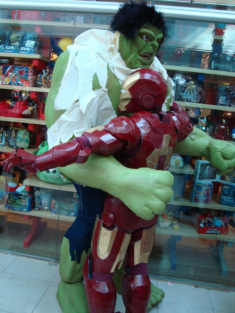 Saved by HULK by ScannerJOE