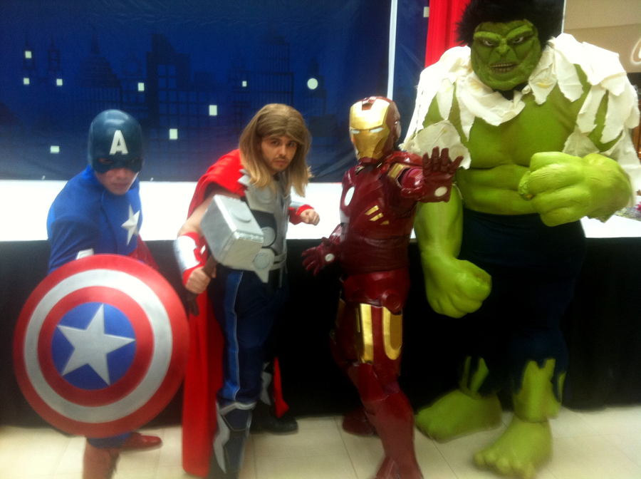 The Avengers Assemble by ScannerJOE