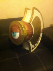 Tsubaki Yayoi's shield, standing by ScannerJOE