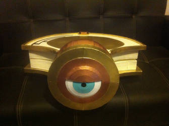 Tsubaki Yayoi's shield, lying by ScannerJOE