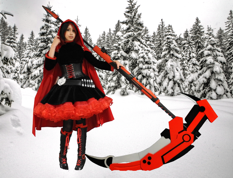 Ruby Rose postprod by ScannerJOE