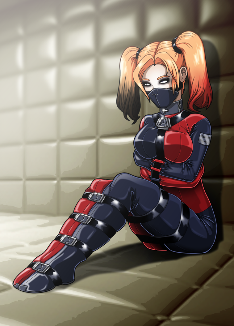 Contained Harley by Re-Maker on DeviantArt