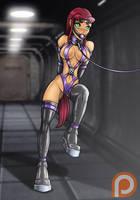 Ponygirl Starfire (Patreon Reward) by Re-Maker