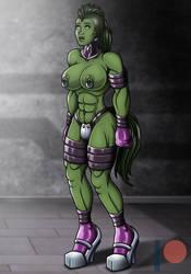 Tamed Hulk v1 (Patreon Reward) by Re-Maker