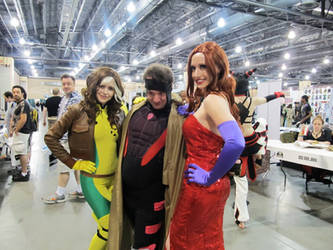 Rogue, Gambit, Jessica Rabbit by Ruskicho