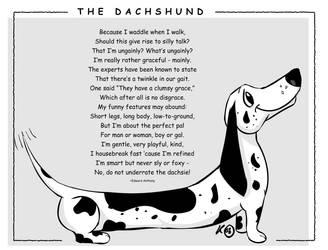 The Dachshund by Crafty-Magic