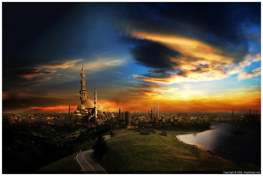 the city of a thousand minaret by dpainter