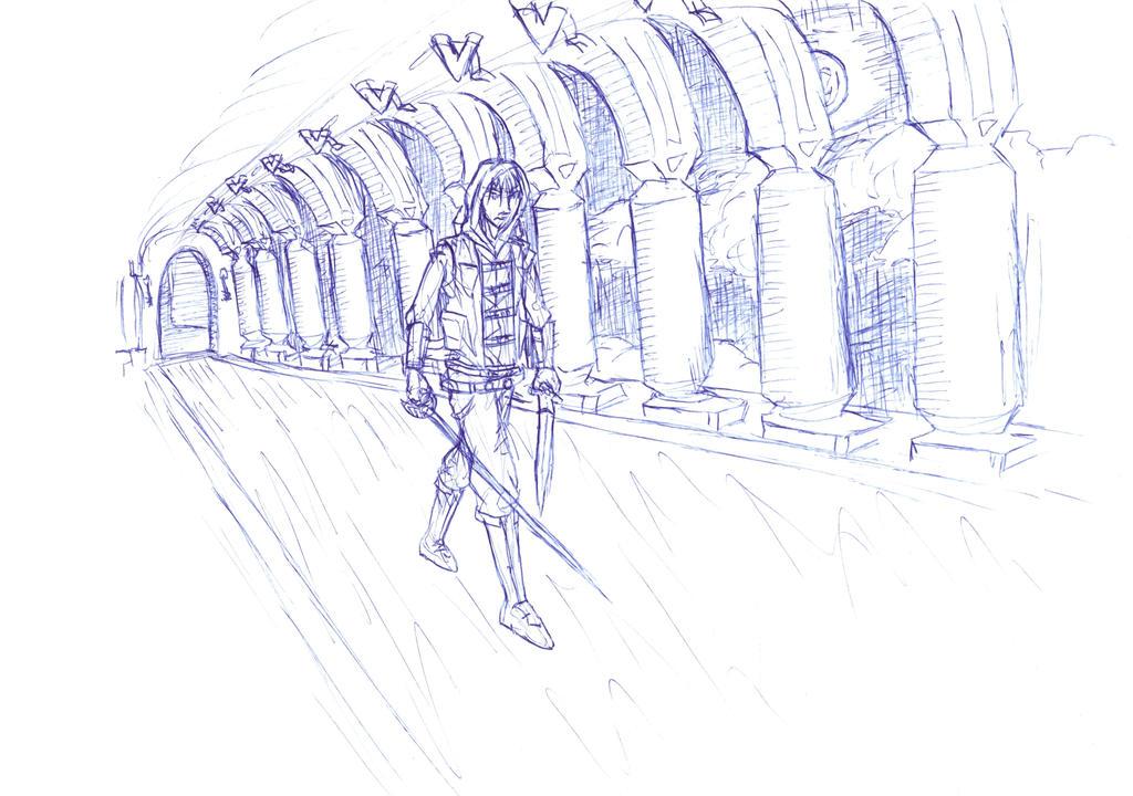 Raden in the Halls by Raden4000
