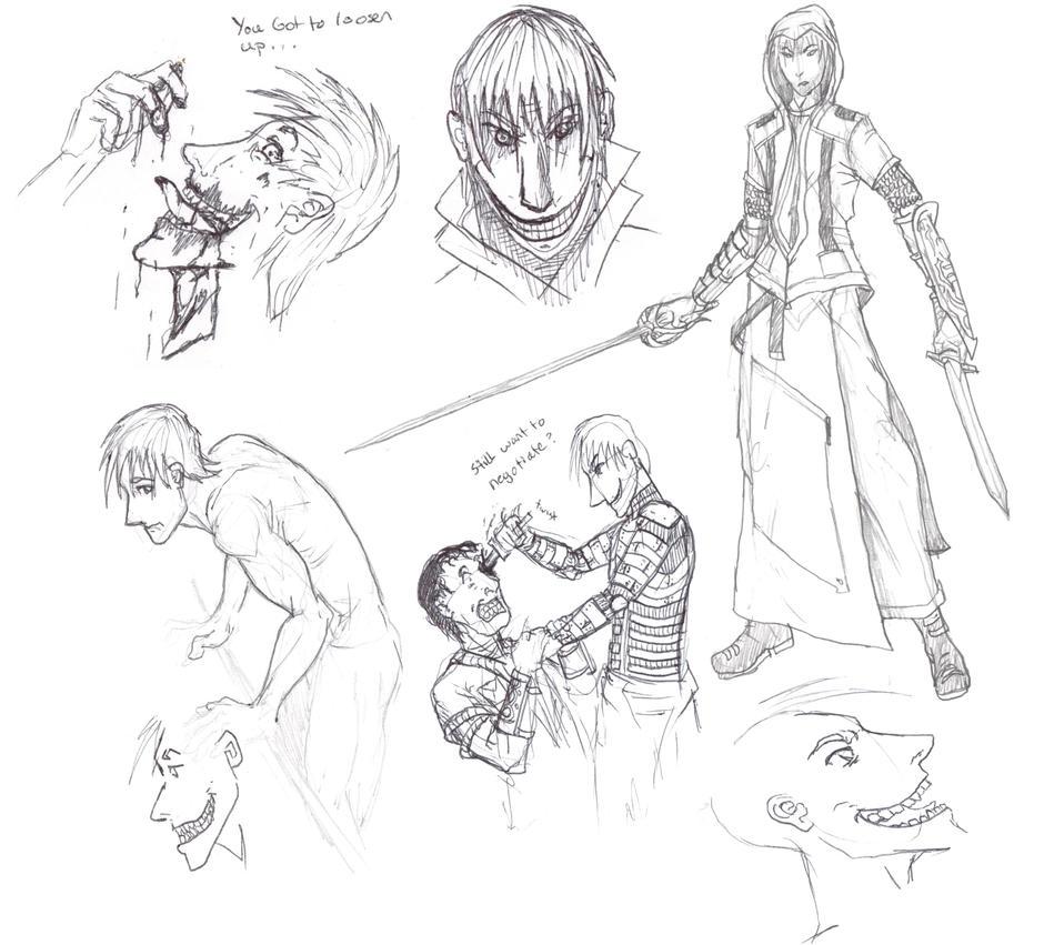 Raden sketches by Raden4000